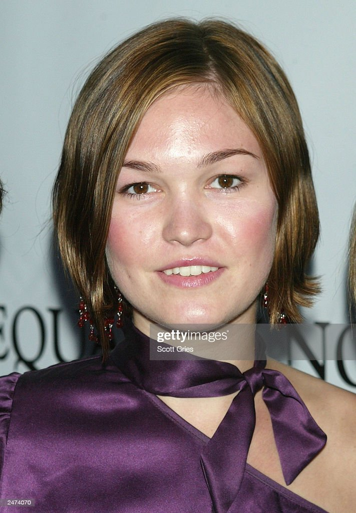 Actress Julia Stiles Arrives At The Equality Now Benefit