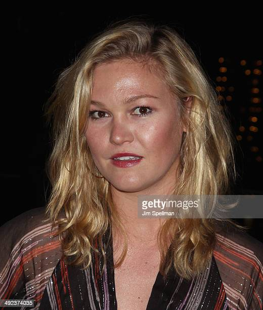 Actress Julia Stiles attends Magnolia Pictures with The Cinema Society screening of 'Filth' after party at Jimmy At The James Hotel on May 19 2014 in...