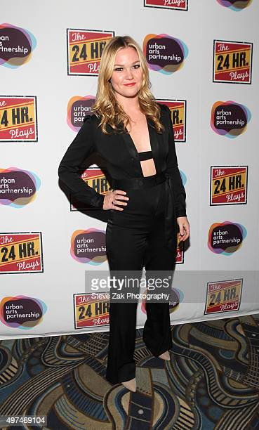 Actress Julia Stiles attends the 2015 24 Hour Plays On Broadway Galaat American Airlines Theatre on November 16 2015 in New York City