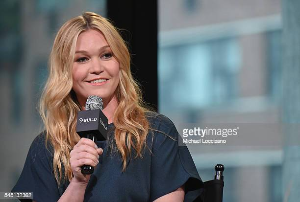 Actress Julia Stiles attends the AOL Build Speaker Series at AOL Studios in New York on July 5 2016 in New York City