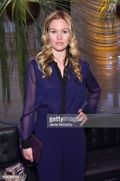 Actress Julia Stiles attends The Hollywood Reporter 35 Most Powerful People In Media 2017 at The Pool on April 13 2017 in New York City