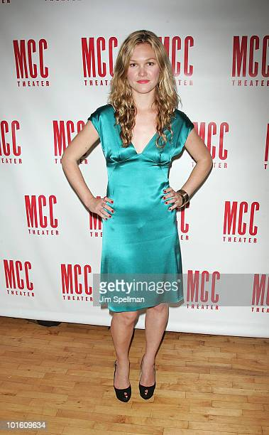 Actress Julia Stiles attends the opening night party for 'Filthy Talk For Troubled Times Scenes of Intolerance' at Ramscale on June 3 2010 in New...