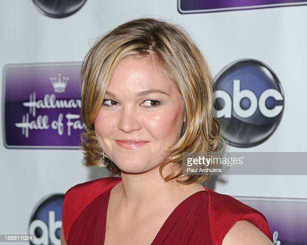 "Actress Julia Stiles attends the premiere of ""The Makeover"" at the Fox Studio Lot on January 22, 2013 in Century City, California."