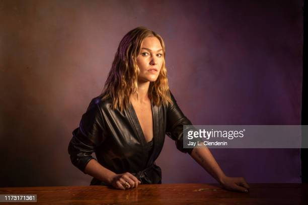 Actress Julia Stiles from 'Hustlers' is photographed for Los Angeles Times on September 8 2019 at the Toronto International Film Festival in Toronto...