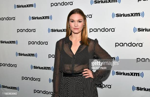 Actress Julia Stiles visits SiriusXM Studios on December 11 2019 in New York City