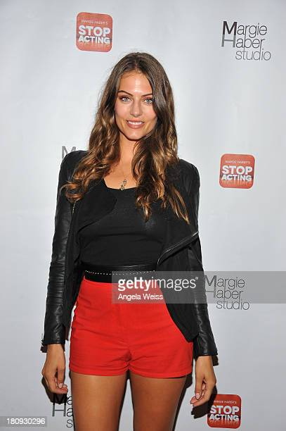 Actress Julia Voth arrives at Margie Haber Studio's 'Stop Acting App The Audition Class with Margie Haber' release launch party at Aventine Hollywood...