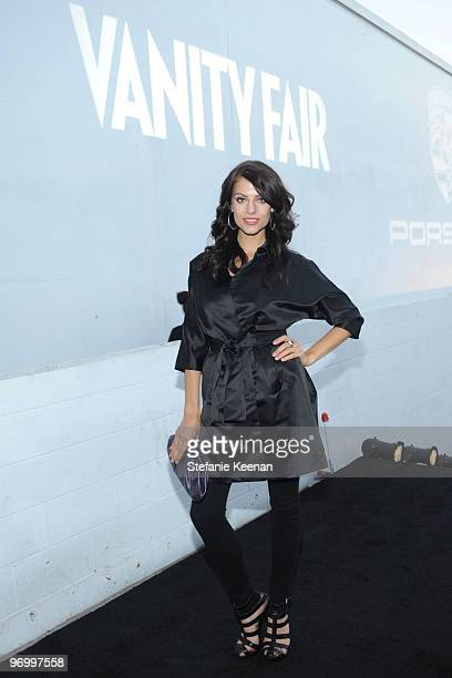 Actress Julia Voth arrives at the launch of the new Porsche Panamera celebrated by Porsche and Vanity Fair held at Milk Studios on September 24 2009...