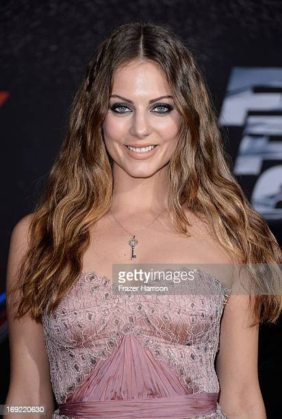 Actress Julia Voth arrives at the Premiere Of Universal Pictures' Fast Furious 6 on May 21 2013 in Universal City California