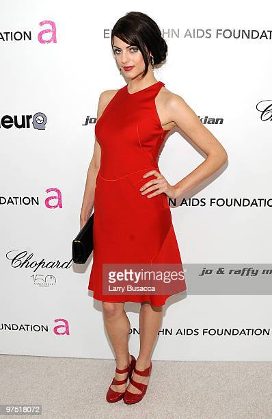 Actress Julia Voth attends the 18th Annual Elton John AIDS Foundation Academy Award Party at Pacific Design Center on March 7 2010 in West Hollywood...