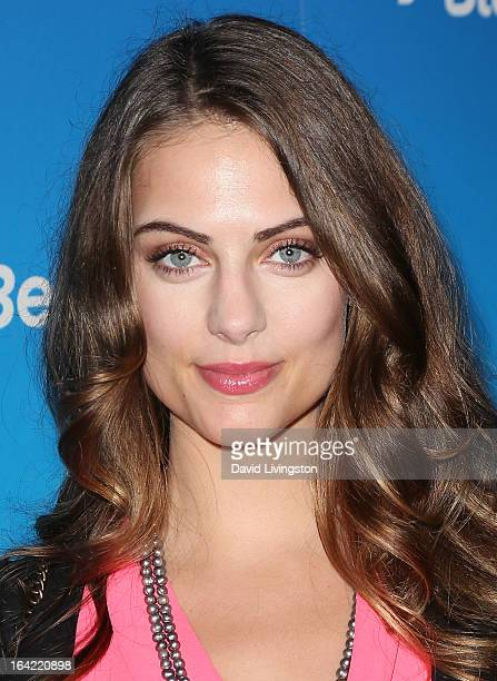 Actress Julia Voth attends the BlackBerry Z10 Smartphone launch party at Cecconi's Restaurant on March 20 2013 in Los Angeles California