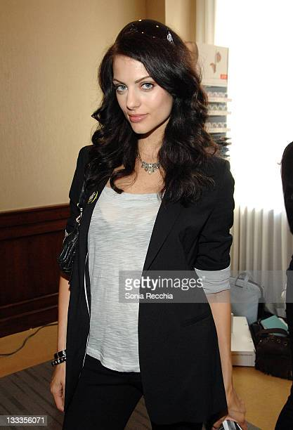 Actress Julia Voth attends the Tastemakers Lounge Day 5 held at the Intercontinental Hotel during the 2009 Toronto International Film Festival on...