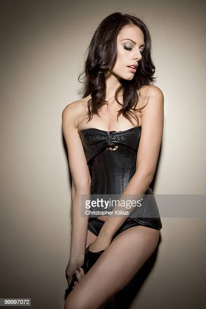 Actress Julia Voth poses for a portrait session in Los Angeles for Maxim PUBLISHED IMAGE