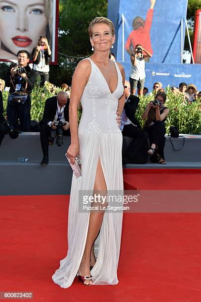 Actress Julia Vysotskaya attends the premiere of 'Paradise' during the 73rd Venice Film Festival at Sala Grande on September 8 2016 in Venice Italy