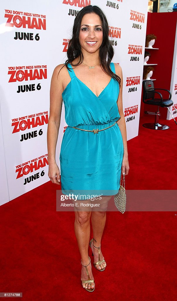 Premiere Of Sony Pictures'  You Don't Mess With The Zohan' - Arrivals : News Photo