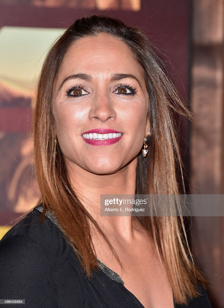 Actress Julia Wolov attends the premiere of Netflix's 'The Ridiculous 6' at AMC Universal City Walk on November 30, 2015 in Universal City, California.