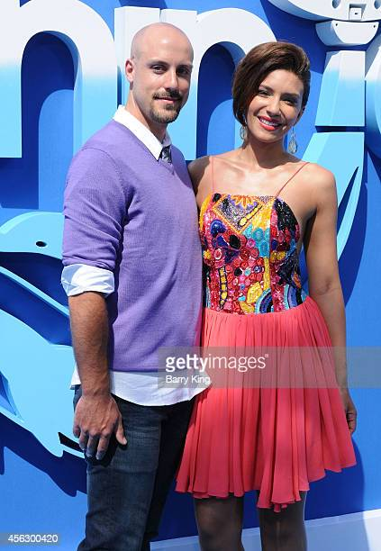 Actress Juliana Harkavy and guest attend the premiere of 'Dolphin Tale 2' at Regency Village Theatre on September 7 2014 in Westwood California
