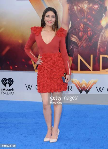 Actress Juliana Harkavy attends the World Premiere of Warner Bros Pictures' 'Wonder Woman' at the Pantages Theatre on May 25 2017 in Hollywood...