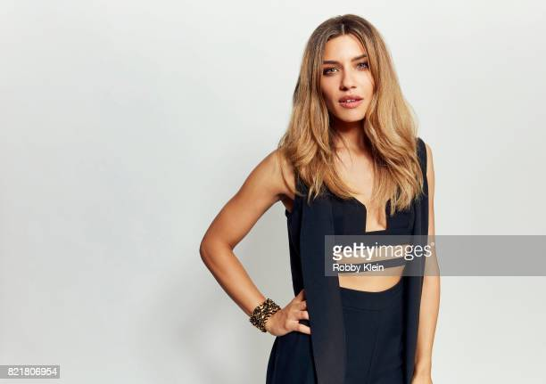 Actress Juliana Harkavy from CW's 'Arrow' poses for a portrait during ComicCon 2017 at Hard Rock Hotel San Diego on July 22 2017 in San Diego...
