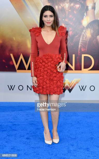 Actress Juliana Harkavyarrives at the Premiere Of Warner Bros Pictures' Wonder Woman at the Pantages Theatre on May 25 2017 in Hollywood California