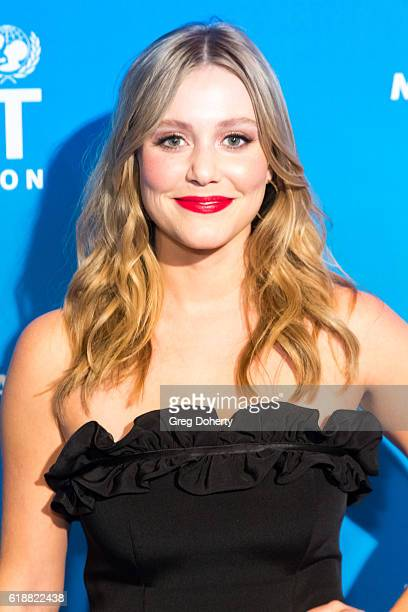 Actress Julianna Guill arrives at the 4th Annual UNICEF Masquerade Ball at Clifton's Cafeteria on October 27 2016 in Los Angeles California