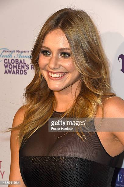 Actress Julianna Guill arrives at The Feminist Majority Foundation's 10th Annual Global Women's Rights Awards with Urban Decay Honoering Shonda...