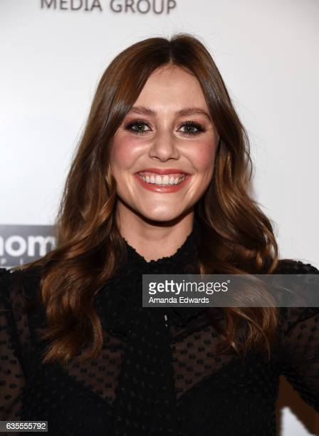 Actress Julianna Guill arrives at the premiere of Momentum Pictures' 'In Dubious Battle' at ArcLight Hollywood on February 15 2017 in Hollywood...