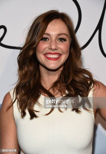 Actress Julianna Guill arrives at the Tyler Ellis 5th Anniversary party and launch of the Tyler Ellis x Petra Flannery Collection at Chateau Marmont...