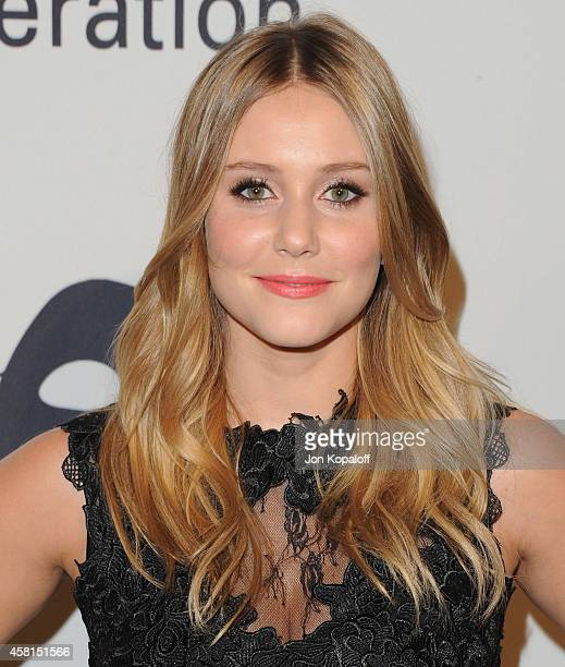 Actress Julianna Guill arrives at the UNICEF's Next Generation's 2nd Annual UNICEF Masquerade Ball on October 30 2014 in Los Angeles California