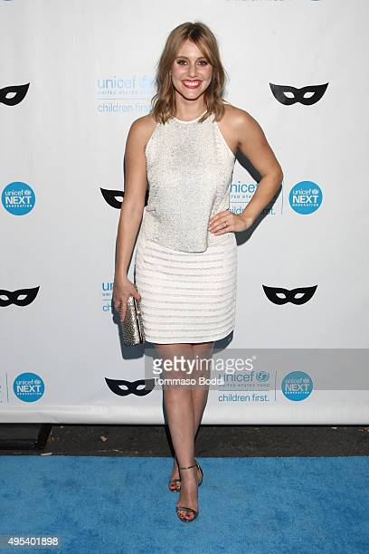 Actress Julianna Guill at the UNICEF Next Generation Third Annual UNICEF Black White Masquerade Ball benefiting UNICEF's lifesaving programs...