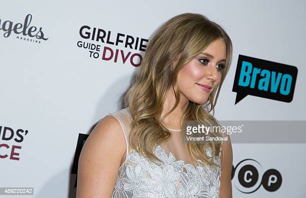 Actress Julianna Guill attends Bravo's Los Angeles premiere of 'Girlfriends Guide To Divorce' at Ace Hotel on November 18 2014 in Los Angeles...