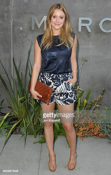 Actress Julianna Guill attends Marc By Marc Jacobs Fall/Winter 2014 Preview at Marc Jacobs on June 20 2014 in Los Angeles California