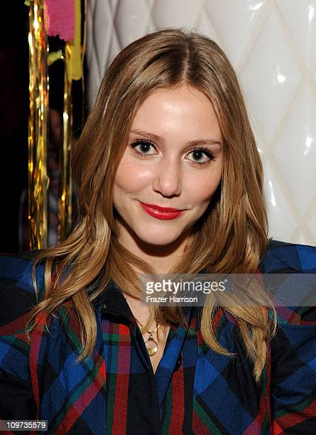 Actress Julianna Guill attends Relativity Media presents the premiere of Take Me Home Tonight after party held at the Conga Room on March 2 2011 in...