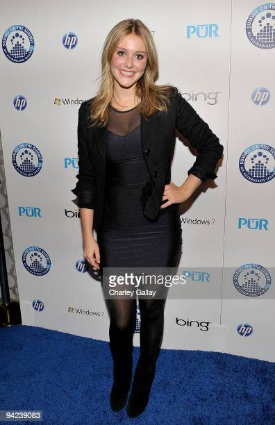 Actress Julianna Guill attends 'Summit on the Summit Kilimanjaro PreAscent Event' held at Voyeur on December 9 2009 in West Hollywood California