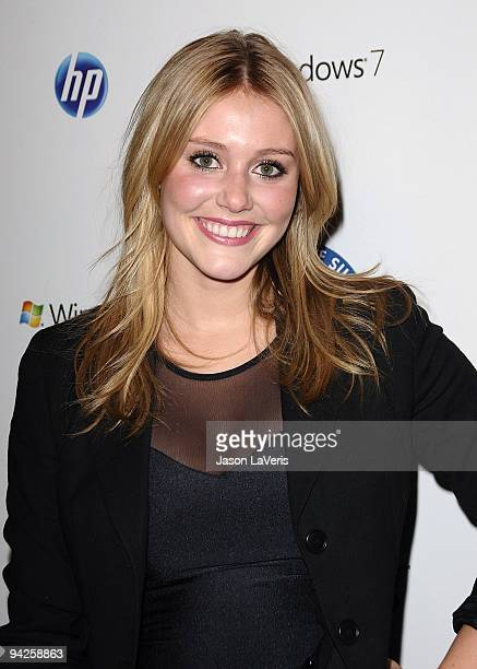 Actress Julianna Guill attends 'Summit on the Summit' preascent event at Voyeur on December 9 2009 in West Hollywood California