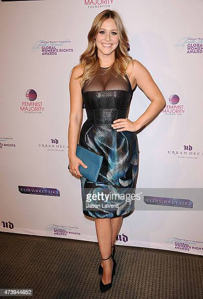 Actress Julianna Guill Attends The Th Annual Global Womens Rights Awards At Pacific Design Center On