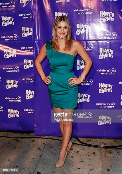 Actress Julianna Guill attends the 1st annual 'Hilarity For Charity' benefiting the Alzheimer's Association at Vibiana on January 13 2012 in Los...