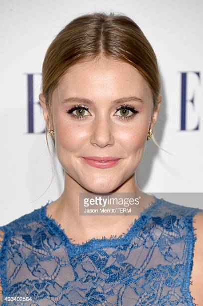 Actress Julianna Guill attends the 22nd Annual ELLE Women in Hollywood Awards at Four Seasons Hotel Los Angeles at Beverly Hills on October 19 2015...