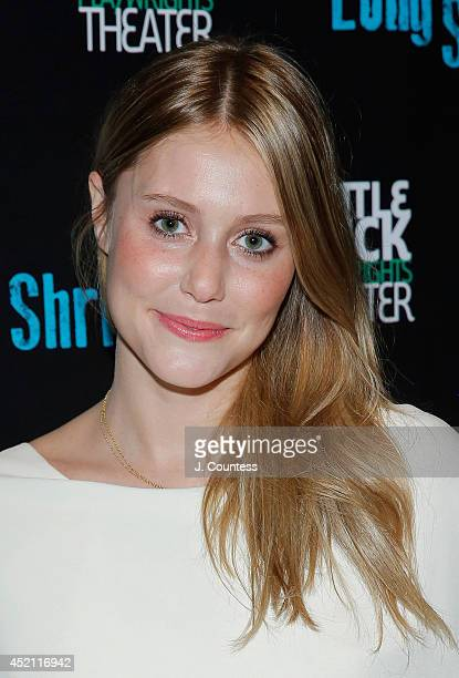 Actress Julianna Guill attends 'The Long Shrift' opening night at Rattlestick Playwrights Theater on July 13 2014 in New York City