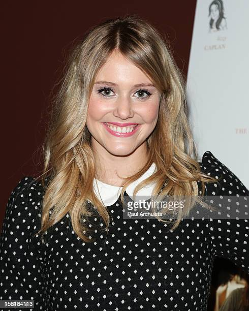 Actress Julianna Guill attends the Los Angeles premiere of Save The Date at the Sundance Cinema on December 10 2012 in Los Angeles California