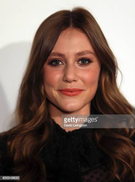 Actress Julianna Guill attends the premiere of Momentum Pictures' 'In Dubious Battle' at ArcLight Hollywood on February 15 2017 in Hollywood...