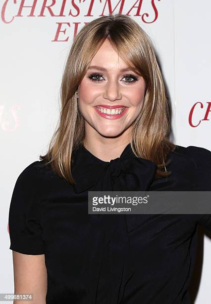 Actress Julianna Guill attends the premiere of Unstuck's Christmas Eve at ArcLight Hollywood on December 2 2015 in Hollywood California