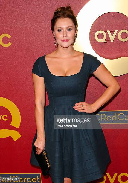 Actress Julianna Guill attends the QVC 5th Annual Red Carpet Style event at The Four Seasons Hotel on February 28 2014 in Beverly Hills California