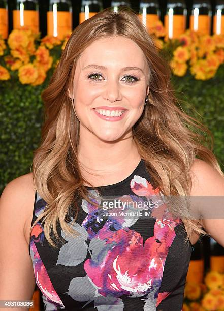 Actress Julianna Guill attends the SixthAnnual Veuve Clicquot Polo Classic at Will Rogers State Historic Park on October 17 2015 in Pacific Palisades...