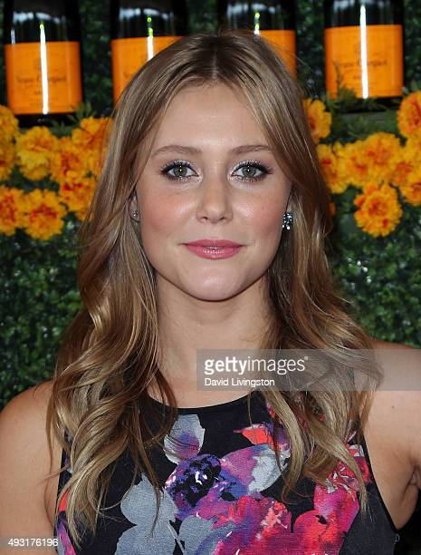 Actress Julianna Guill attends the SixthAnnual Veuve Clicquot Polo Classic Los Angeles at Will Rogers State Historic Park on October 17 2015 in...