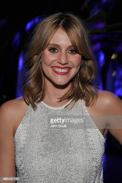 Actress Julianna Guill attends the UNICEF Next Generation Third Annual UNICEF Black White Masquerade Ball benefiting UNICEF's lifesaving programs...