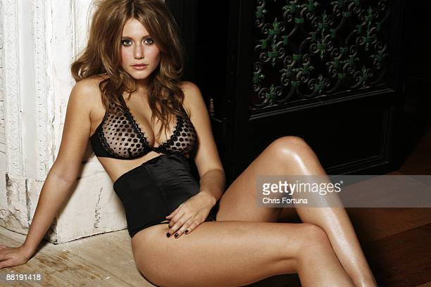 LOS ANGELES CA Actress Julianna Guill poses for a portrait session in Los Angeles for Maxim PUBLISHED IMAGE