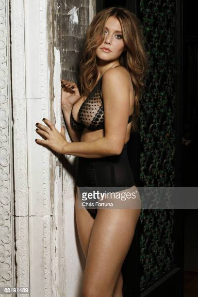 LOS ANGELES CA Actress Julianna Guill poses for a portrait session in Los Angeles for Maxim