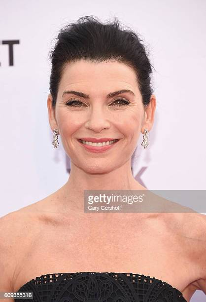 Actress Julianna Marguiles attends the New York City Ballet 2016 Fall Gala at the David H Koch Theater at Lincoln Center on September 20 2016 in New...
