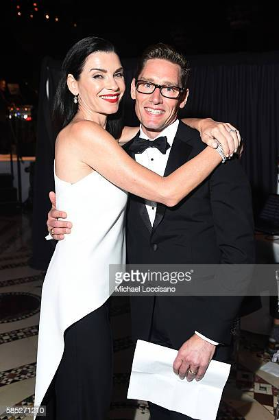 Actress Julianna Margulies and costume designer Daniel Lawson attend the Accessories Council 20th Anniversary celebration of the ACE awards at...