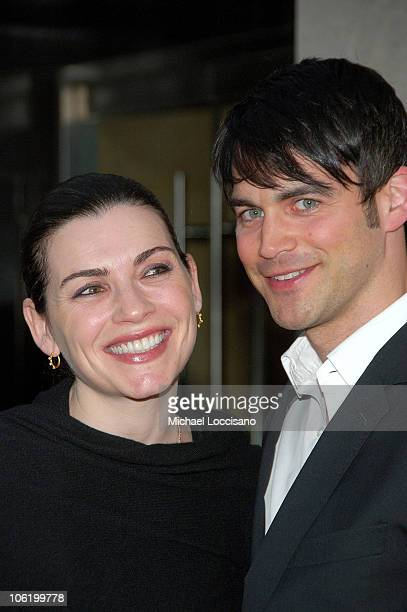 Actress Julianna Margulies and husband Keith Lieberthal attend the HBO Documentaries premiere Of Roman Polanski Wanted And Desired at The Paris...